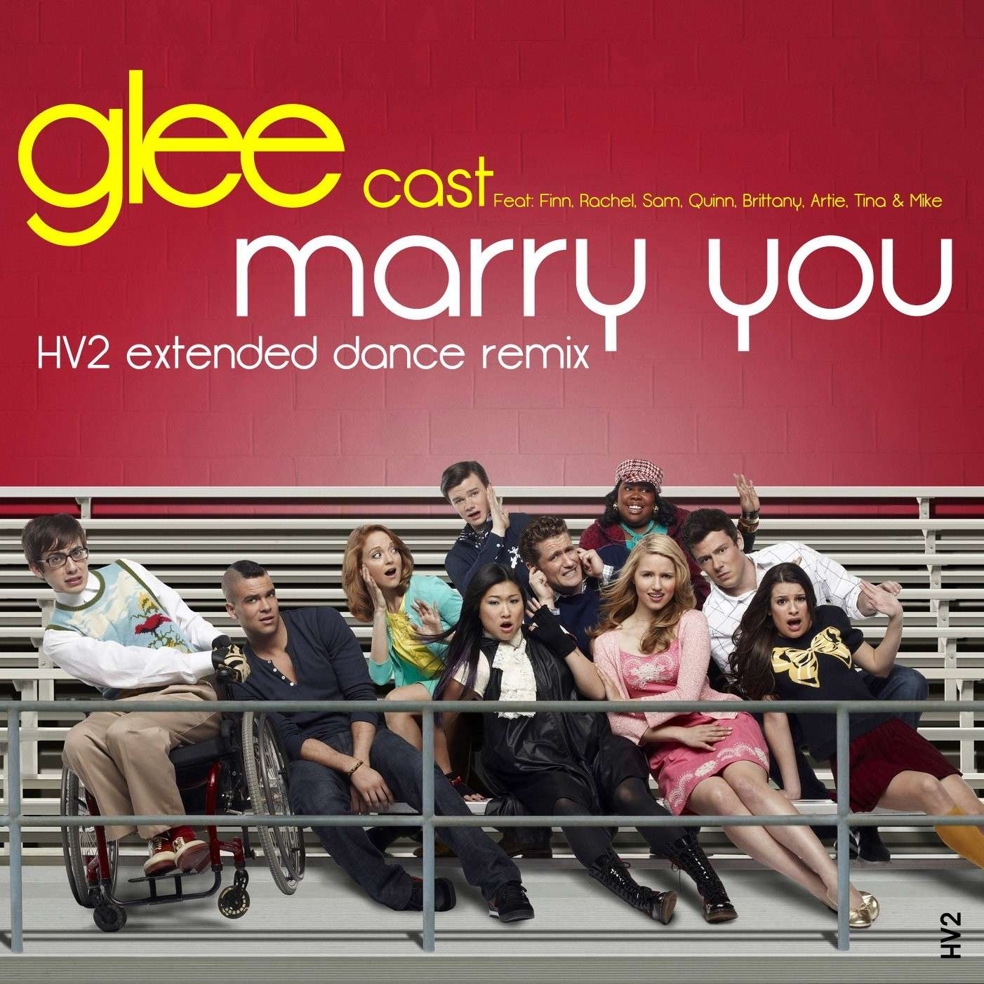 glee cast mary you remix HV2 remix bruno mars mary you xtatic