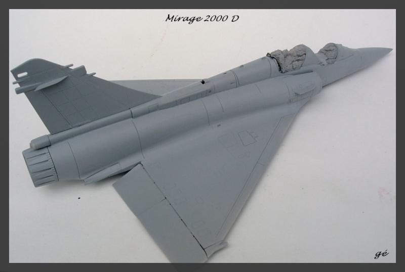Mirage 2000 d italeri 1 48 for Interieur mirage 2000