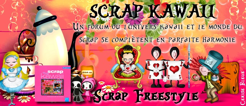 Scrap Kawaii, Scrap Freestyle.