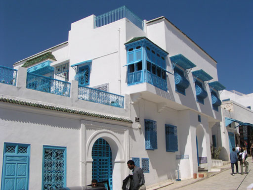 architecture tunisienne traditionnelle