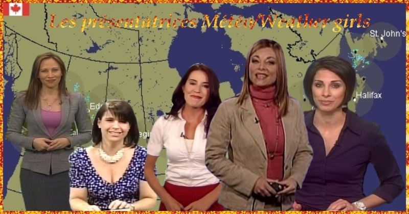 Les pr�sentatrices M�t�o/Weather girls