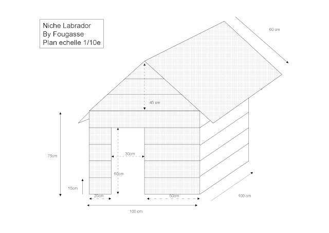 Fabrication d 39 une niche faite par moi et mon pere page 3 - Plan niche chien palette ...