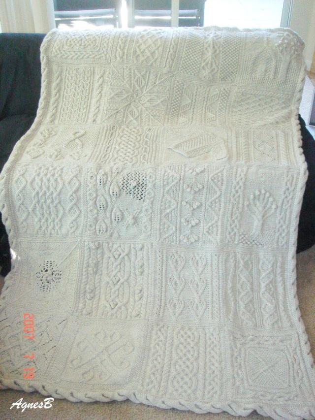 tricoter un afghan