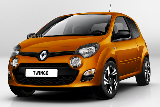 unveiled 2012 renault twingo restyled page 2. Black Bedroom Furniture Sets. Home Design Ideas
