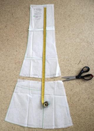011e4d6eadce2b Ma jupe en mousseline (modification du patron) - La Bobine