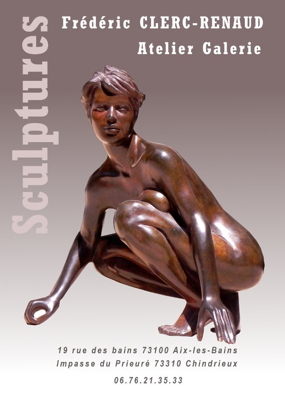 sculpture bronze Electra