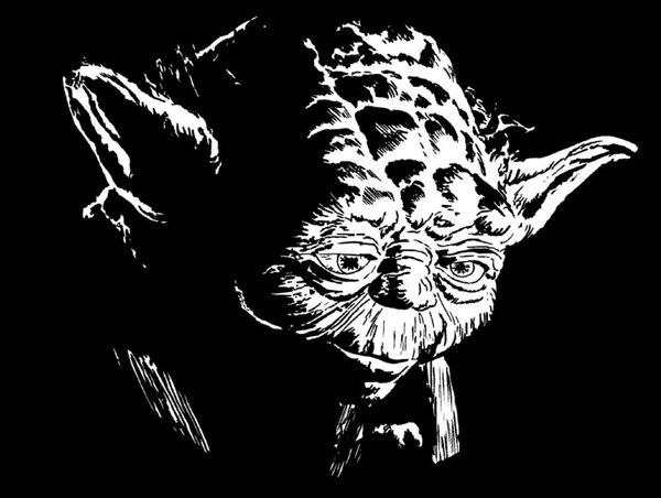 Galerie des dessins et photos de jedi - Yoda coloriage ...