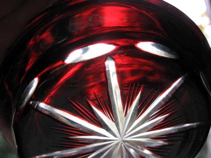 cendrier cristal taill saint louis boh me. Black Bedroom Furniture Sets. Home Design Ideas