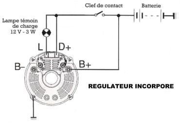 branchement d u0026 39 un alternateur sur renault 30