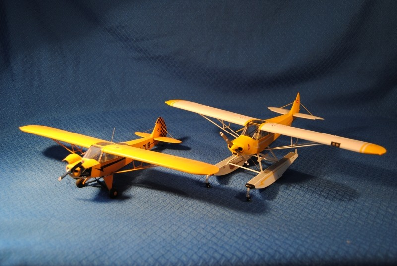 Piper pa 18 150 float plane revell 1 32