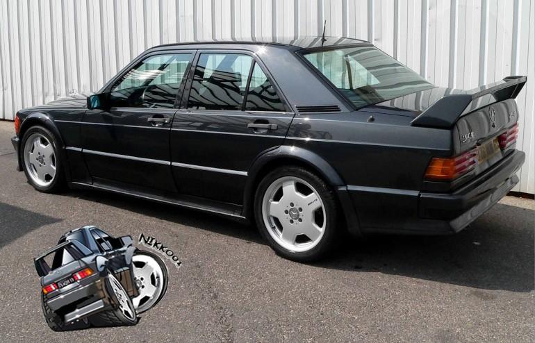 Mercedes 190e 2 5 16 evolution 1 page 1 yaronet for Ariete evo 2 in 1
