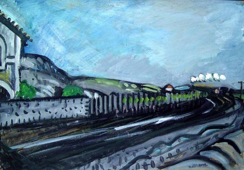 Trains et peinture page 4 for Auguste chabaud cote
