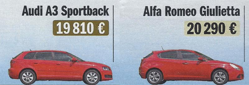 Les allemandes moins chères que les françaises ! ! - Questions et remarques à la rédac - FORUM Sport Auto