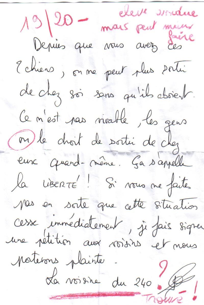 Ebook Lettre Voisin Bruit Pas