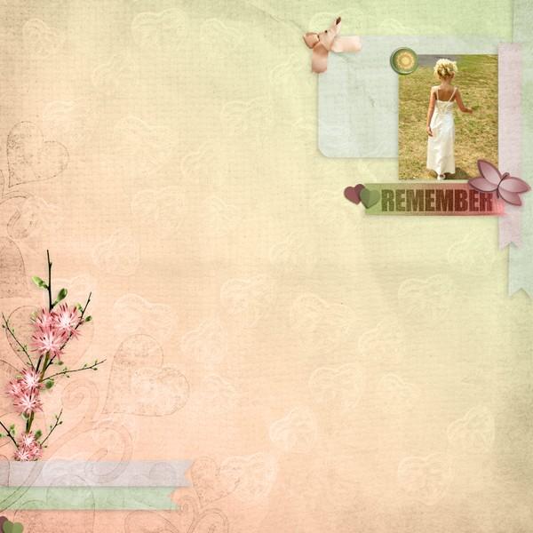 kit romantic spring simplette page leaugoscrap
