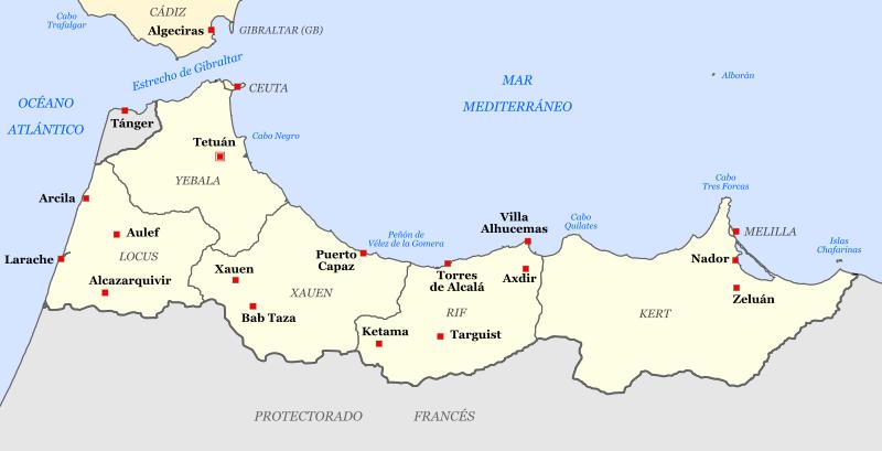 carte-du-rif-marocain