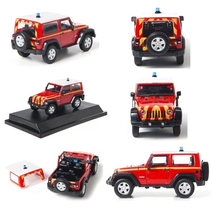 jeep wrangler rubicon pompier 1 43 nouveaut 2012. Black Bedroom Furniture Sets. Home Design Ideas