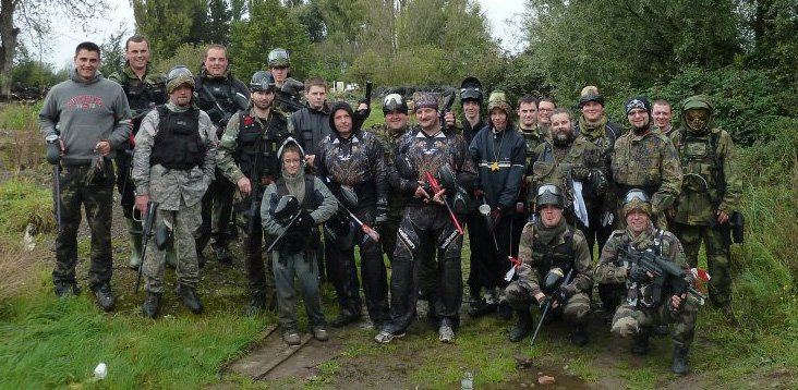 PAINTBALL ADVENTURE DE LA C�TE D'OPALE