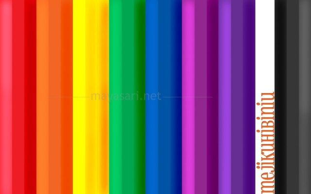 gambar warna jingga