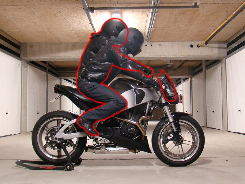 Boucle Arriere Buell S Cafe Racer