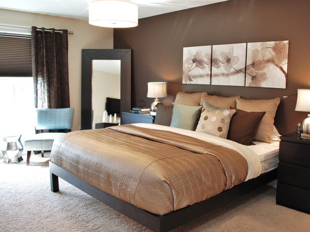 couleur taupe et chocolat. Black Bedroom Furniture Sets. Home Design Ideas
