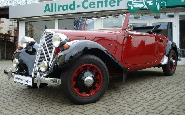 Traction citroen prix