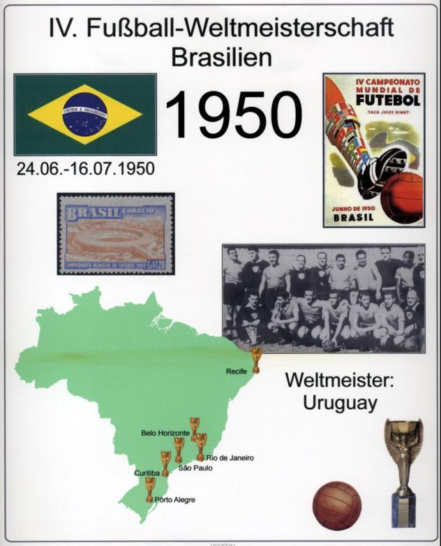 fußball weltmeisterschaft 1950