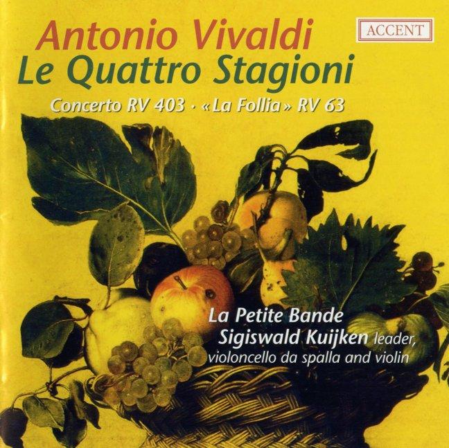 Vivaldi Le Quattro Stagioni S Kuijken (Accent 2007)(Flac, booklet) rar preview 0