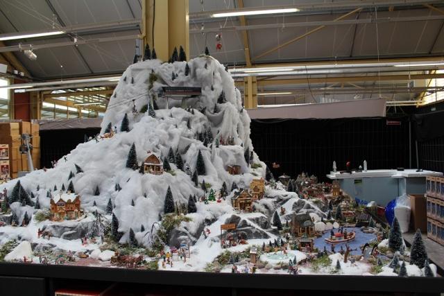 Decoration de noel lemax - Decoration village de noel ...