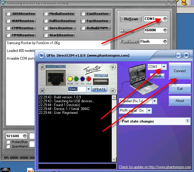 جميع البوكسات المكسرة الدي تعمل مع ufs3 +direct com  وتقدر تفلش الصينى  الموضوع منقول