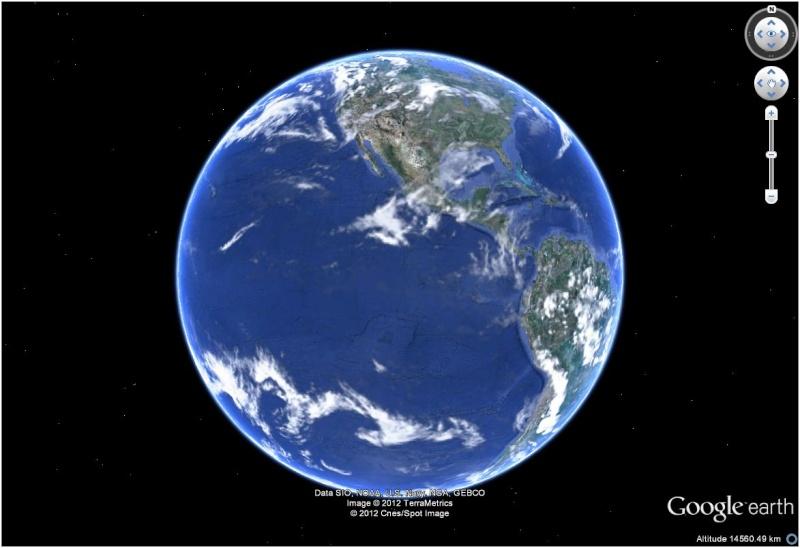 GOOGLE 2012 SUR GRATUIT 3D EARTH CLUBIC TÉLÉCHARGER