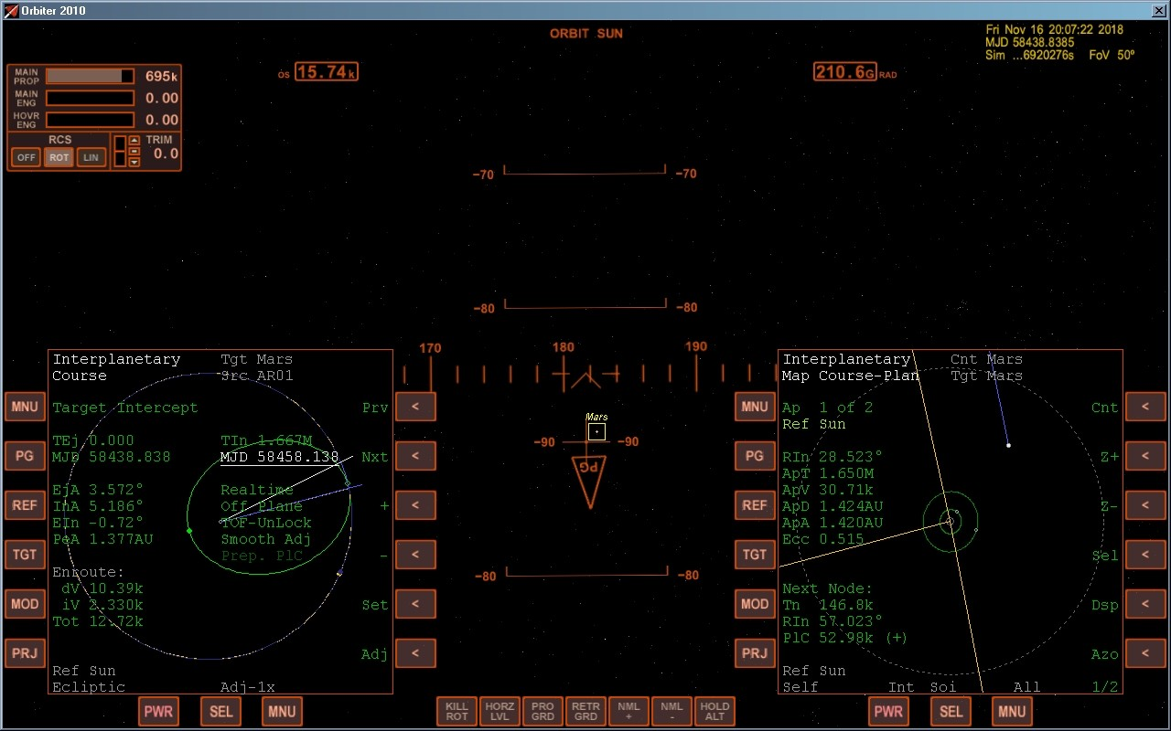 TransX Hohmann transfer - Mars - Orbiter-Forum