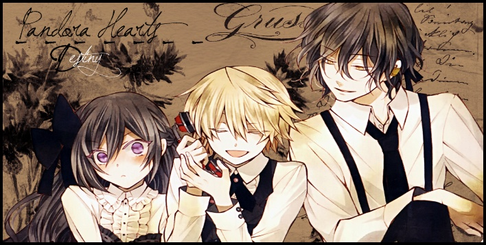 Pandora Hearts Destiny