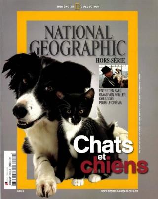 zoologie national geographic hors série juin 2012 chats et chiens magazine inédit historique du chien et du chat 12H